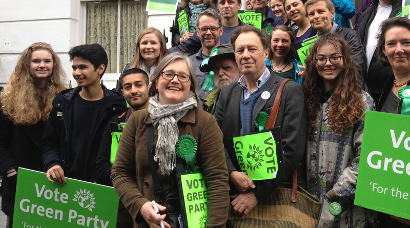 Islington Green Party members