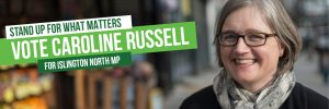 Standing up for what matters - vote Caroline Russell