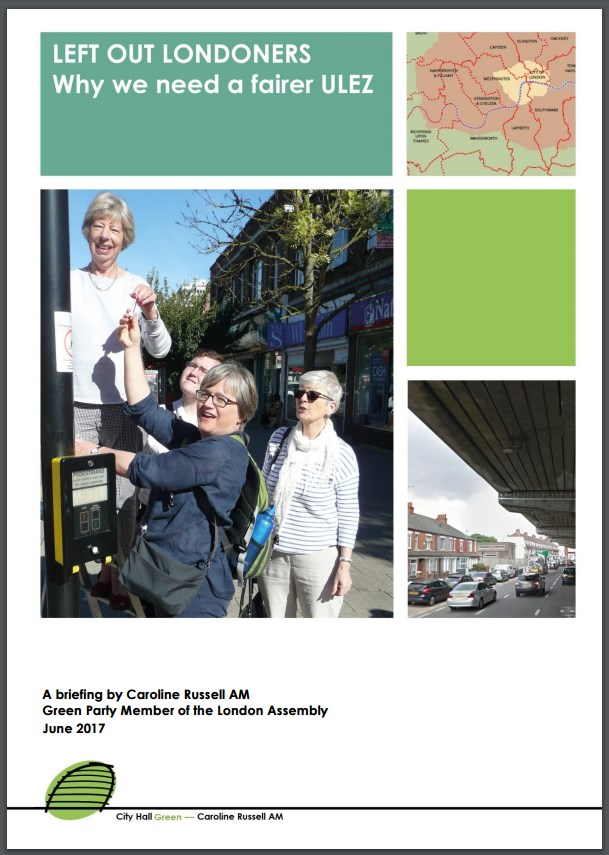 cover of Left out Londoners report