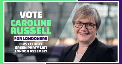 Nominations close tonight for the Green Party London Assembly List selection